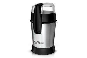 Black & Decker Smartgrind Coffee Grinder, Stainless Steel, CBG100S