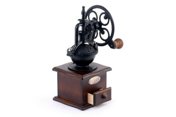 Foruchoice Manual Coffee Grinder Antique Cast Iron Hand Crank Coffee Mill