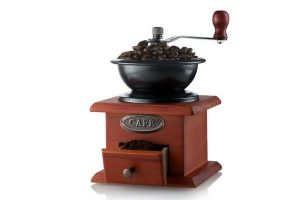 Gourmia GCG9310 Manual Coffee Grinder Artisanal Hand Crank Coffee Mill